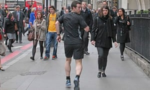 Reverse running