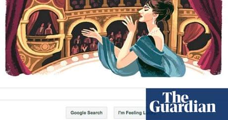Maria Callas Google Gives Singer A Solo Technology The Guardian