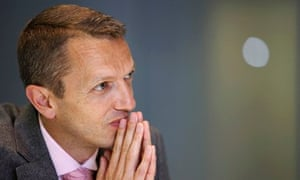 Andrew Haldane, executive director for financial stability at the Bank of England.