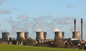 Coal-fuelled Ferrybridge power station, North Yorkshire.