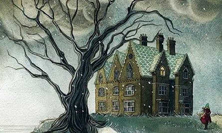 ghost stories illustration (jeanette winterson)