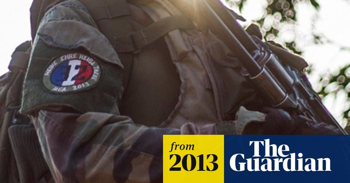 French soldier wears Nazi slogan on uniform in Central