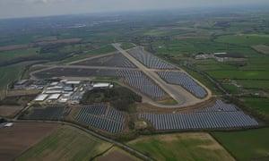 Britain's largest solar farm