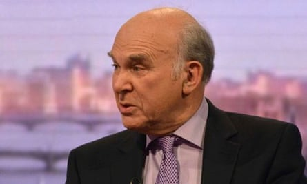 Vince Cable on The Andrew Marr Show