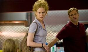 Nicole Kidman with Aaron Eckhart in the film Rabbit Hole