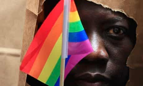 An asylum seeker from Uganda Gay Pride Parade in Boston