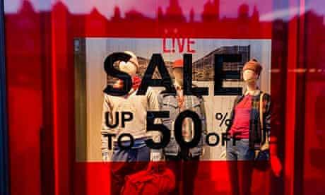 Post-Christmas sales