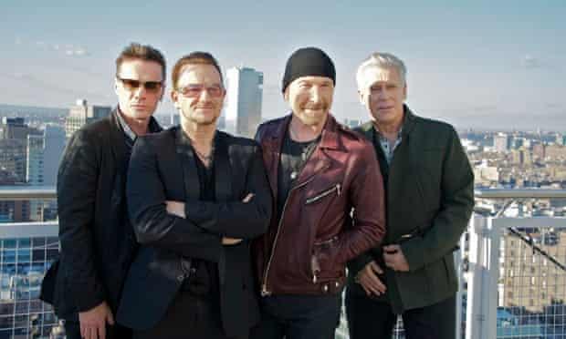 U2 in New York