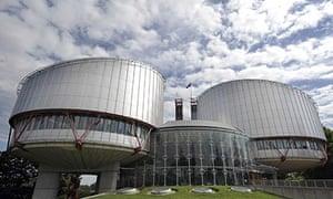 uropean court of human rights in Strasbourg