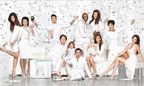 Kardashians 2013 Christmas Card.The Kardashian Christmas Cards That Reveal The Ghosts Of