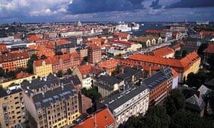 Christianshamn in Copenhagen, Denmark.