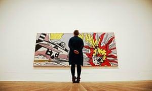 Roy Lichtenstein's Whaam, at Tate Modern