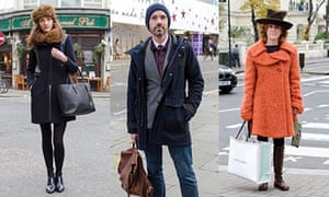 Street style: winter coats - in pictures | Fashion | The Guardian