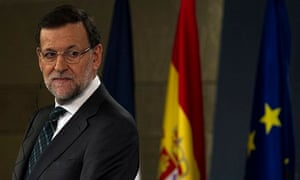 Spain's prime minister Mariano Rajoy: 'This country can and will move forward.'