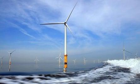 Burbo Bank windfarm