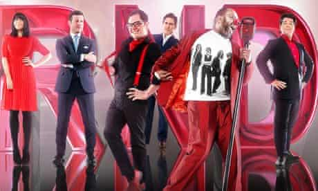 Stars of Comic Relief's 2013 appeal