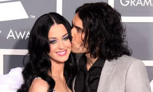 Brand with then-wife Katy Perry in 2011.