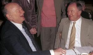 Ed Koch and Ken Livingstone