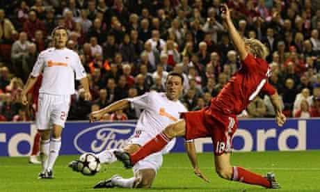 Liverpool v Debrecen, UEFA Champions League 2009