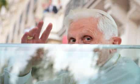 Pope Benedict resignation statement