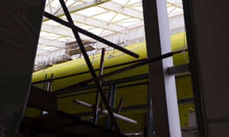 Olympic aquatics centre