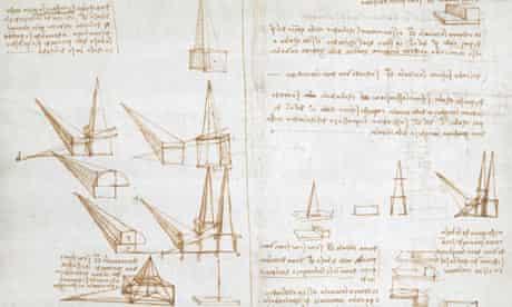 Leonardo da Vinci's notebook, British Library