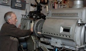 Neville Parry, Aldeburgh cinema