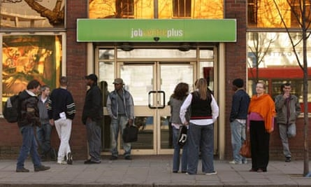 People outside JobCentre Plus