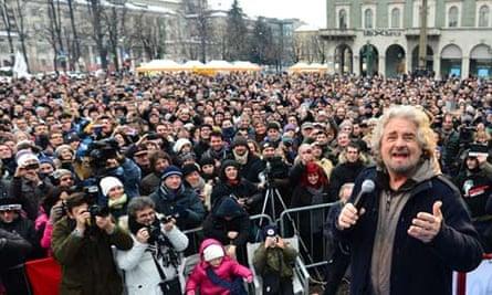 Beppe Grillo Five Star Movement