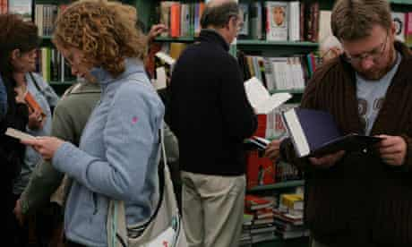 Bookshop at the Hay festival