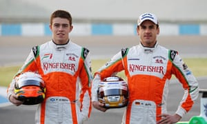 Force India Spot Up For Grabs Adrian Sutil And Jules Bianchi