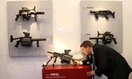 Defence Systems and Equipment International Arms Fair, London