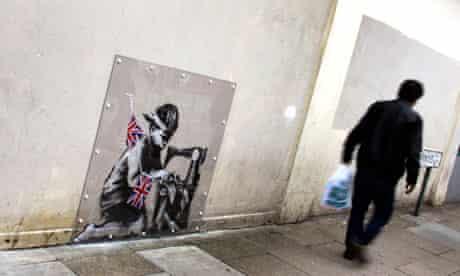 Banksy mural in Haringey