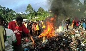 Kepari Leniata burned to death