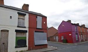 Derelict houses, Liverpool
