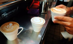 'If it's drinkable and looks OK, it's servicable,' says one barista.