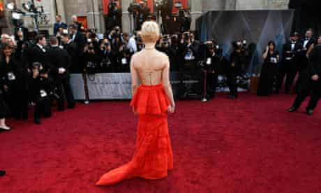Michelle Williams at the Oscars 2012