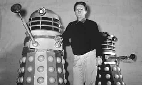 Raymond Cusick with two Daleks in 1964