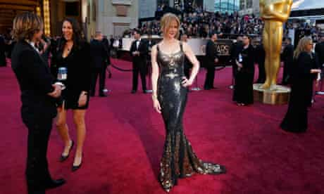 Keith Urban and Nicole Kidman arrive at the 85th Academy Awards in Hollywood