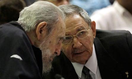 Fidel and Raúl Castro