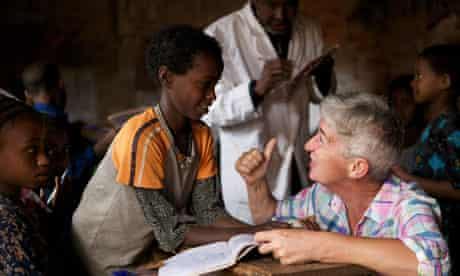 VSO volunteer in Ethiopia