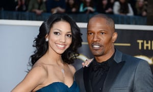 Jamie Foxx and Corinne Bishop.
