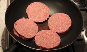 frozen beefburgers