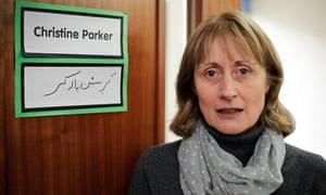 Headteacher, Christine Parker.