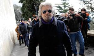 Five Star Movement Beppe Grillo