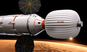 Mars spacecraft