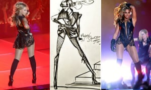What Beyonce wore for the Super Bowl