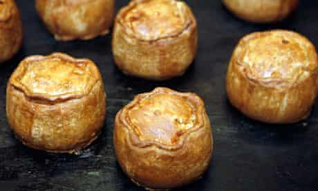 Pork pies from Melton Mowbray, near Leicester