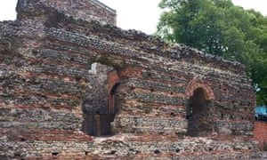 The Roman Jewry wall, Leicester