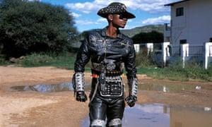 One of Botswana's heavy metal rockers